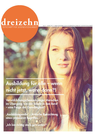 Cover Zeitschrift 13 Heft 9